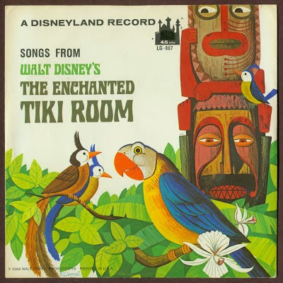 tiki room 1963 45 jacket front