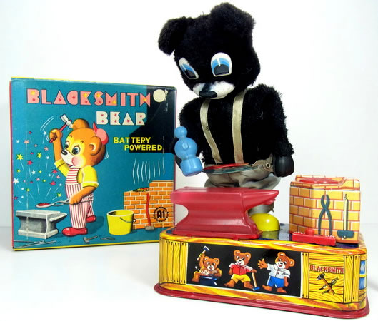 blacksmith bear